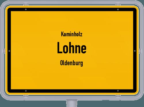 Kaminholz & Brennholz-Angebote in Lohne (Oldenburg), Großes Bild