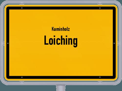 Kaminholz & Brennholz-Angebote in Loiching, Großes Bild