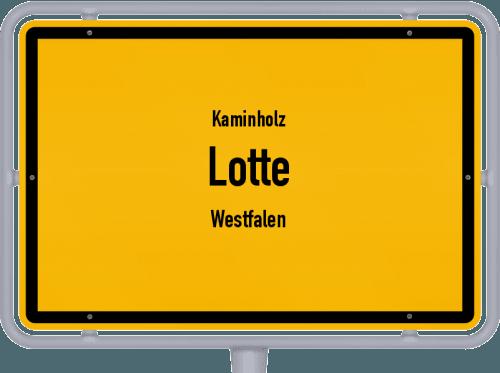 Kaminholz & Brennholz-Angebote in Lotte (Westfalen), Großes Bild
