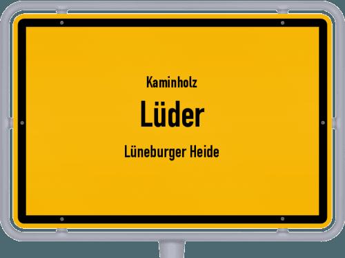 Kaminholz & Brennholz-Angebote in Lüder (Lüneburger Heide), Großes Bild