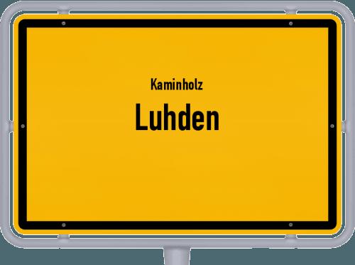 Kaminholz & Brennholz-Angebote in Luhden, Großes Bild
