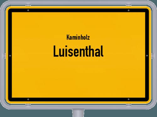 Kaminholz & Brennholz-Angebote in Luisenthal, Großes Bild