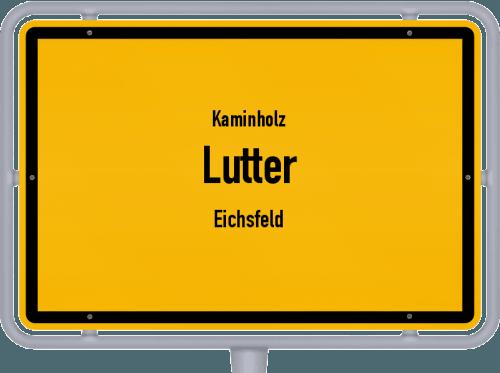 Kaminholz & Brennholz-Angebote in Lutter (Eichsfeld), Großes Bild