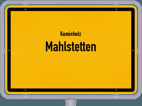 Kaminholz & Brennholz-Angebote in Mahlstetten, Großes Bild