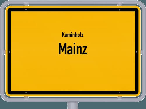 Kaminholz & Brennholz-Angebote in Mainz, Großes Bild
