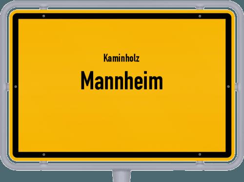Kaminholz & Brennholz-Angebote in Mannheim, Großes Bild