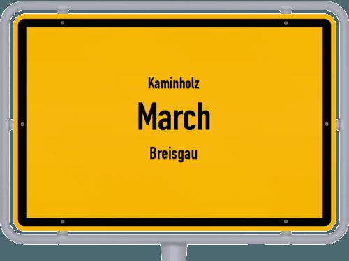 Kaminholz & Brennholz-Angebote in March (Breisgau), Großes Bild