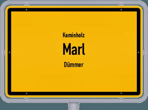 Kaminholz & Brennholz-Angebote in Marl (Dümmer), Großes Bild