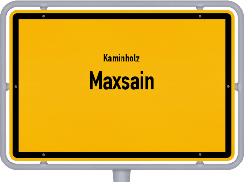 Kaminholz & Brennholz-Angebote in Maxsain, Großes Bild