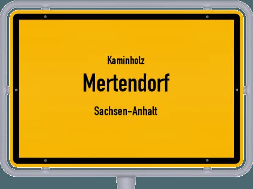 Kaminholz & Brennholz-Angebote in Mertendorf (Sachsen-Anhalt), Großes Bild