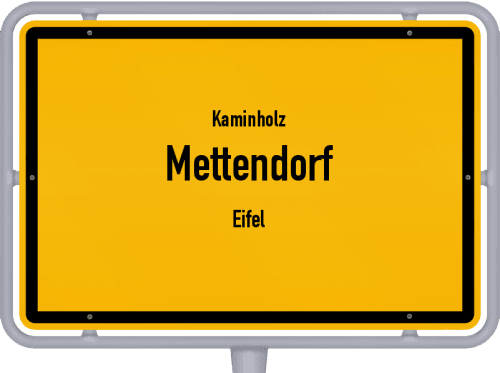 Kaminholz & Brennholz-Angebote in Mettendorf (Eifel), Großes Bild