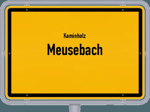 Kaminholz & Brennholz-Angebote in Meusebach, Großes Bild