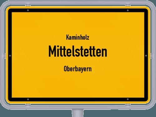 Kaminholz & Brennholz-Angebote in Mittelstetten (Oberbayern), Großes Bild
