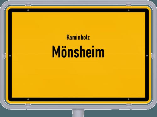 Kaminholz & Brennholz-Angebote in Mönsheim, Großes Bild