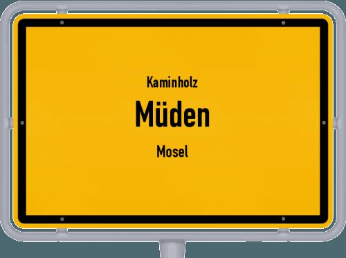 Kaminholz & Brennholz-Angebote in Müden (Mosel), Großes Bild