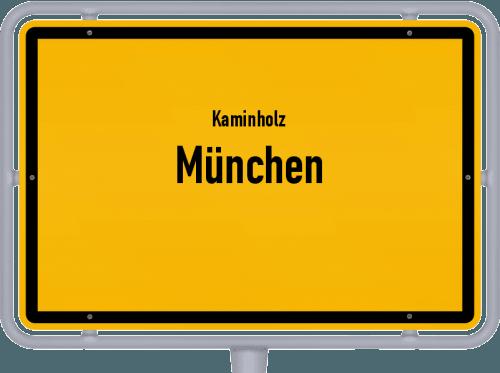Kaminholz & Brennholz-Angebote in München, Großes Bild