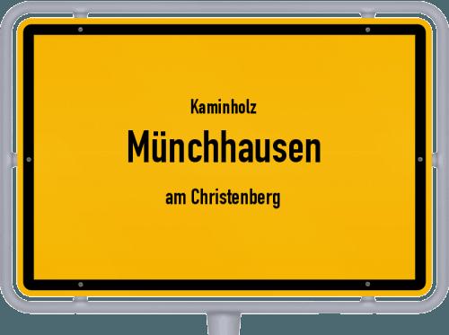 Kaminholz & Brennholz-Angebote in Münchhausen (am Christenberg), Großes Bild