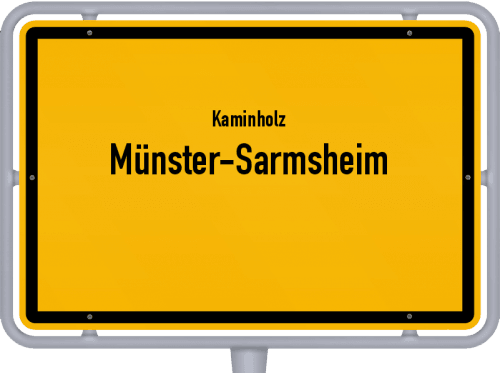Kaminholz & Brennholz-Angebote in Münster-Sarmsheim, Großes Bild