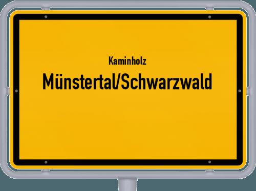 Kaminholz & Brennholz-Angebote in Münstertal/Schwarzwald, Großes Bild