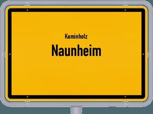Kaminholz & Brennholz-Angebote in Naunheim, Großes Bild