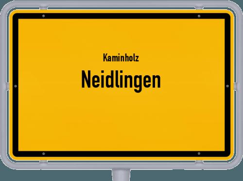 Kaminholz & Brennholz-Angebote in Neidlingen, Großes Bild