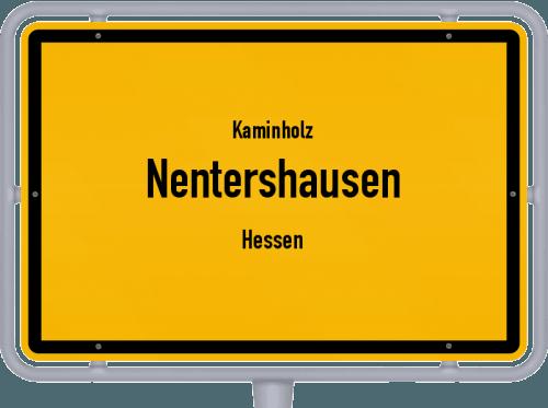Kaminholz & Brennholz-Angebote in Nentershausen (Hessen), Großes Bild