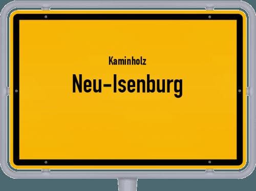 Kaminholz & Brennholz-Angebote in Neu-Isenburg, Großes Bild