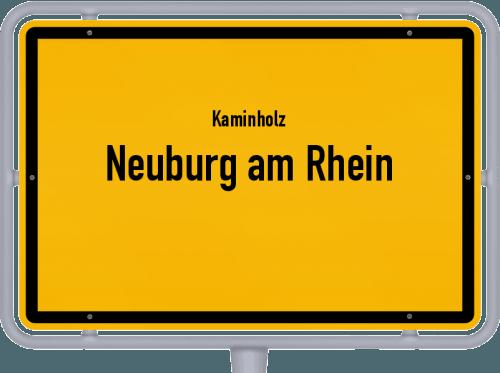 Kaminholz & Brennholz-Angebote in Neuburg am Rhein, Großes Bild