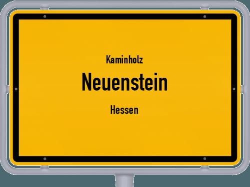 Kaminholz & Brennholz-Angebote in Neuenstein (Hessen), Großes Bild