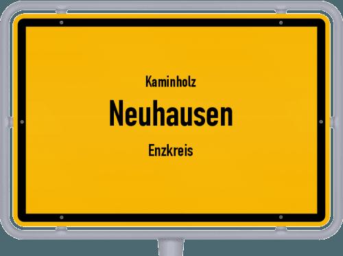 Kaminholz & Brennholz-Angebote in Neuhausen (Enzkreis), Großes Bild