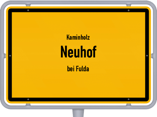 Kaminholz & Brennholz-Angebote in Neuhof (bei Fulda), Großes Bild