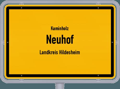 Kaminholz & Brennholz-Angebote in Neuhof (Landkreis Hildesheim), Großes Bild