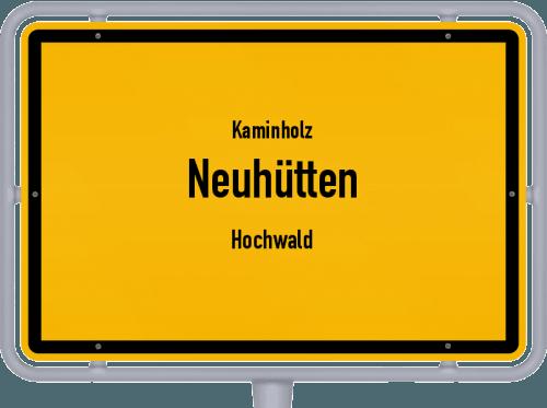 Kaminholz & Brennholz-Angebote in Neuhütten (Hochwald), Großes Bild