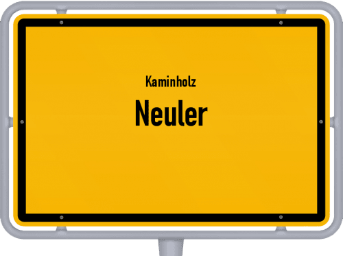 Kaminholz & Brennholz-Angebote in Neuler, Großes Bild