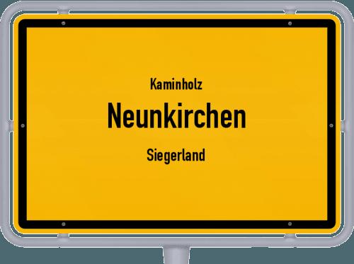 Kaminholz & Brennholz-Angebote in Neunkirchen (Siegerland), Großes Bild