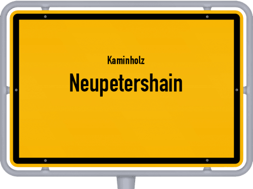 Kaminholz & Brennholz-Angebote in Neupetershain, Großes Bild