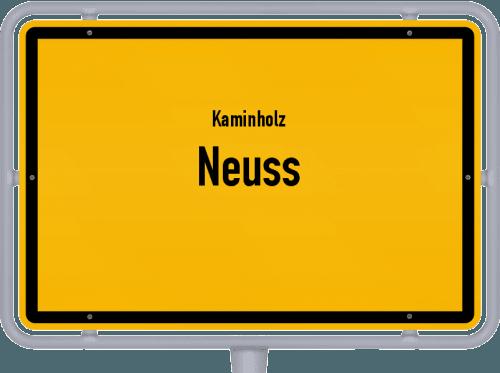 Kaminholz & Brennholz-Angebote in Neuss, Großes Bild