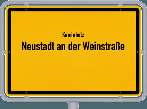 Kaminholz & Brennholz-Angebote in Neustadt an der Weinstraße, Großes Bild