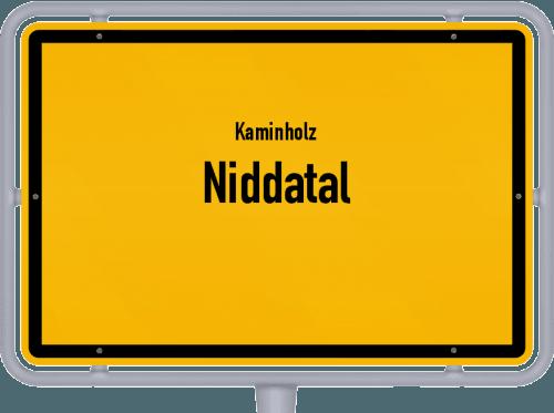 Kaminholz & Brennholz-Angebote in Niddatal, Großes Bild