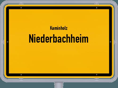 Kaminholz & Brennholz-Angebote in Niederbachheim, Großes Bild