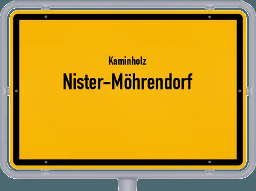 Kaminholz & Brennholz-Angebote in Nister-Möhrendorf, Großes Bild