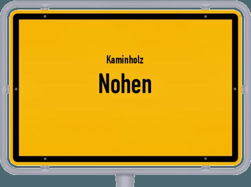 Kaminholz & Brennholz-Angebote in Nohen, Großes Bild