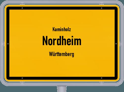 Kaminholz & Brennholz-Angebote in Nordheim (Württemberg), Großes Bild