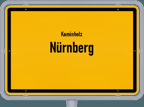 Kaminholz & Brennholz-Angebote in Nürnberg, Großes Bild