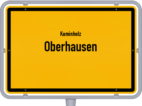 Kaminholz & Brennholz-Angebote in Oberhausen, Großes Bild