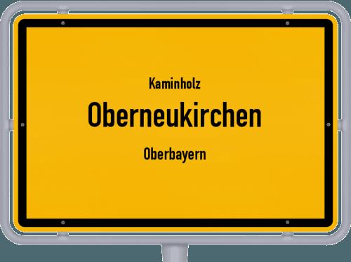 Kaminholz & Brennholz-Angebote in Oberneukirchen (Oberbayern), Großes Bild