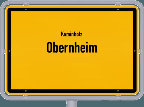 Kaminholz & Brennholz-Angebote in Obernheim, Großes Bild