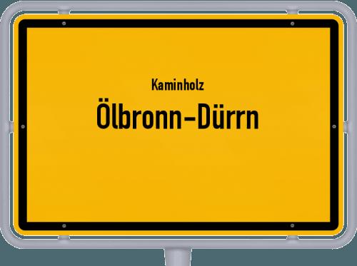 Kaminholz & Brennholz-Angebote in Ölbronn-Dürrn, Großes Bild