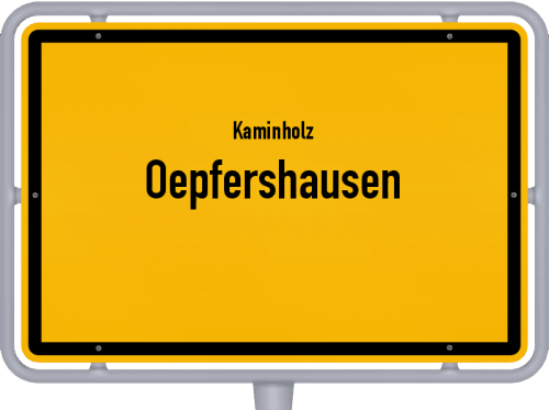 Kaminholz & Brennholz-Angebote in Oepfershausen, Großes Bild