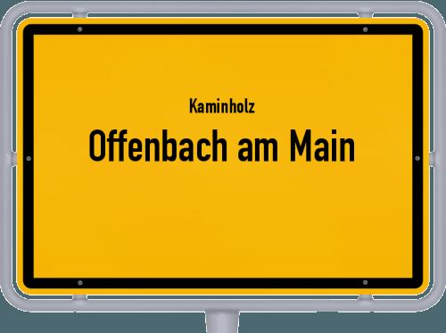 Kaminholz & Brennholz-Angebote in Offenbach am Main, Großes Bild